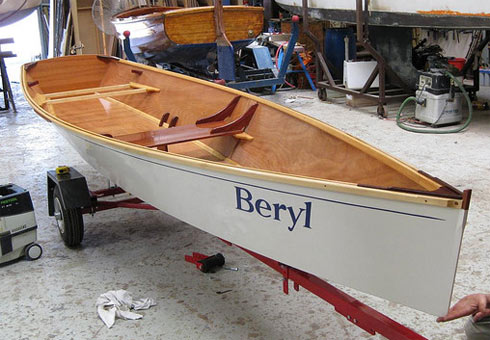 MSD Rowing Skiff Plans