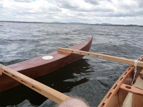 Drop-in Outriggers for Canoes & Kayaks Plans