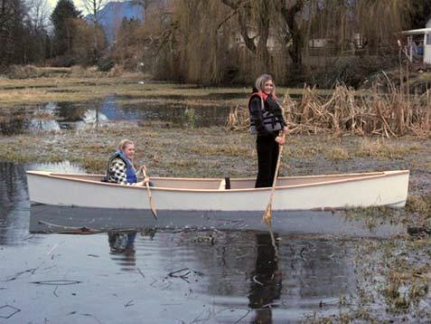 Quick Canoe 155 Plans