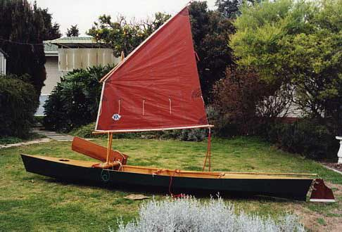 Drop-in Sail Rig for Canoes & Kayaks