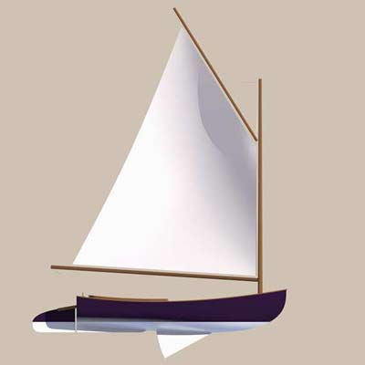 Catboat Plans - Strip Plank Version