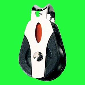 """1/4"""" (6mm) Ronstan Single, loop head, Ball Bearing Block"""