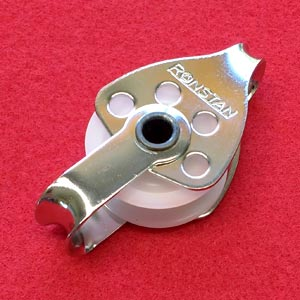 "5/16"" (8mm) Ronstan Single, Becket, loop head Utility Block"