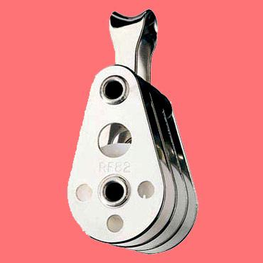 """5/16"""" (8mm) Ronstan Triple, loop head Utility Block"""