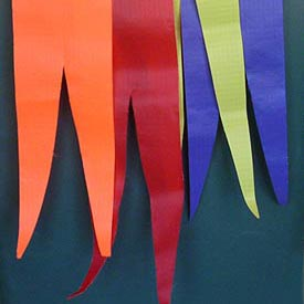 Single Color Pennants