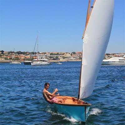 RSS Goat Island Skiff Sail