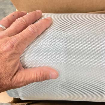 """8.8 oz. x 38""""  E-Glass Cloth"""
