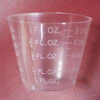 1 ounce measuring cups