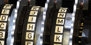 Enigma rotors with alphabet rings