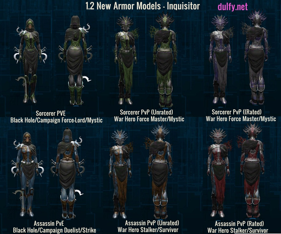 1 2 New Armor Models - Dulfy