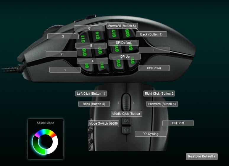 Logitech G600 Mouse Review-Dulfy