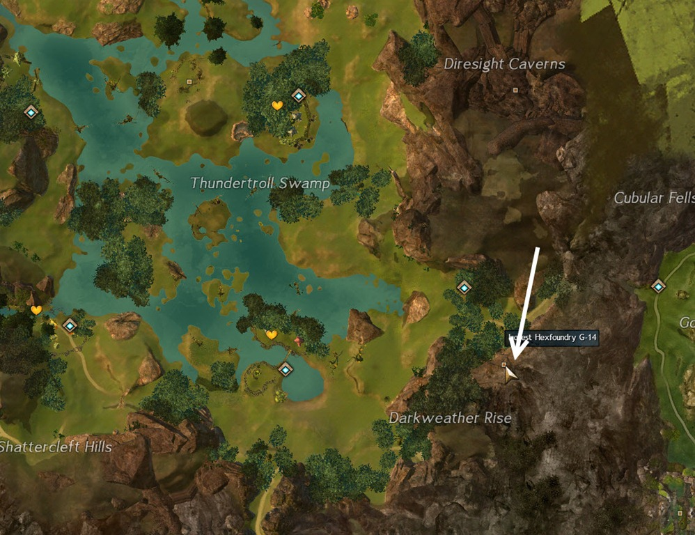 Sparkfly Fen Map GW2 Hexfoundry Unhinged jumping puzzle guide   Sparkfly Fens   Dulfy