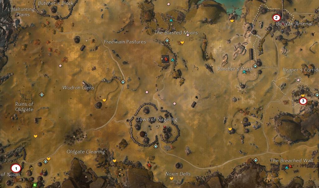 gw2 magic snow diessa plateau map