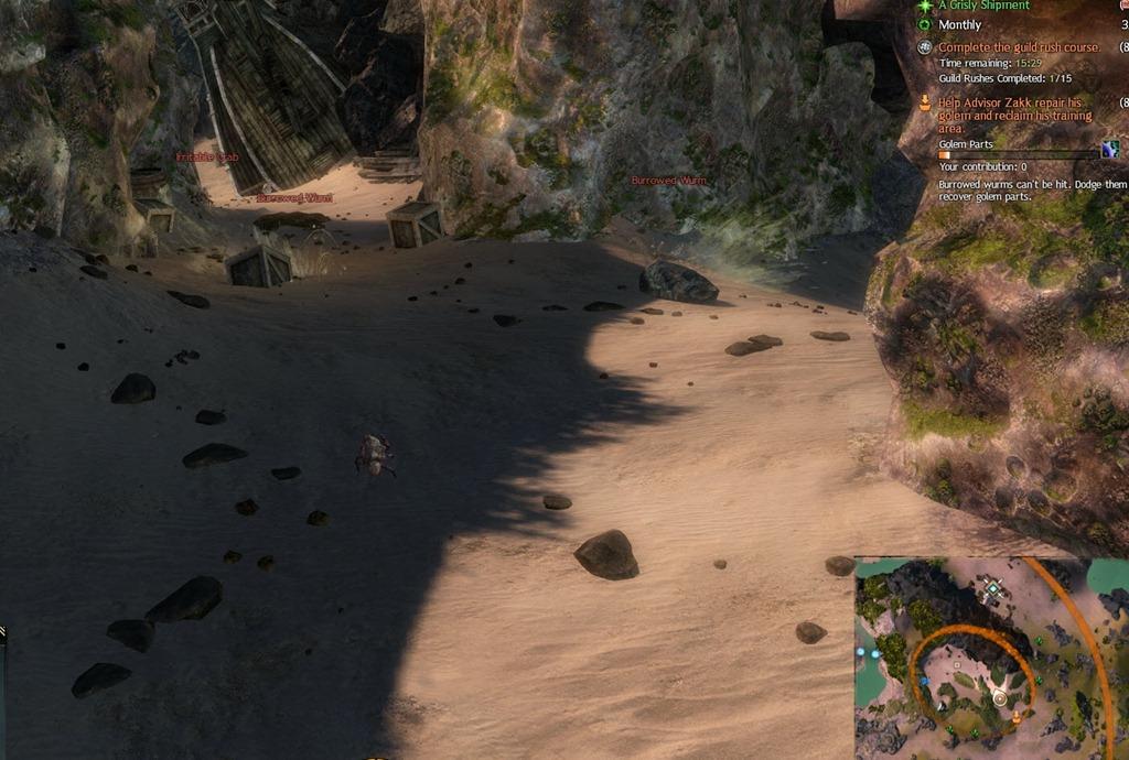 GW2 Guild Rush Guild Mission guide - Dulfy