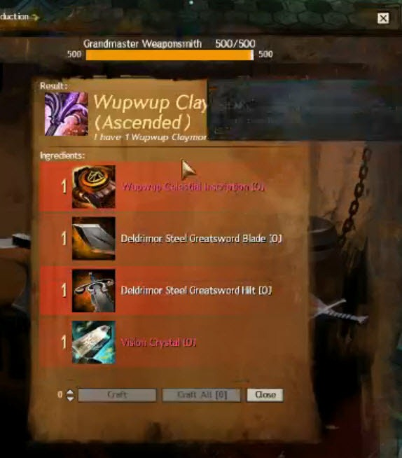 Gw2 Account Magic Find Ascended Crafting And Legendary Weapons