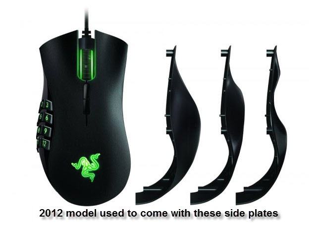 eb4435c7245 Razer Naga 2014 MMO Gaming mouse review - Dulfy