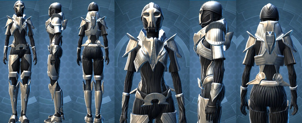 SWTOR Dread Forged and Oriconian PvE armor gallery - Dulfy