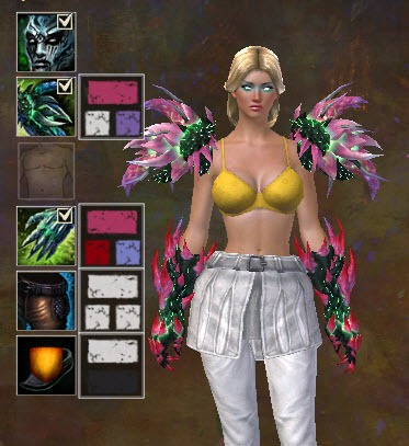 Gw2 Toxic Dyes Mantles And Gloves In The Gemstore Dulfy