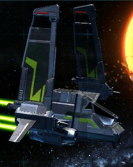 swtor-valiant-imperial-strike-fighter-paint-job-yellow-green-dark-green-color-module-inverted