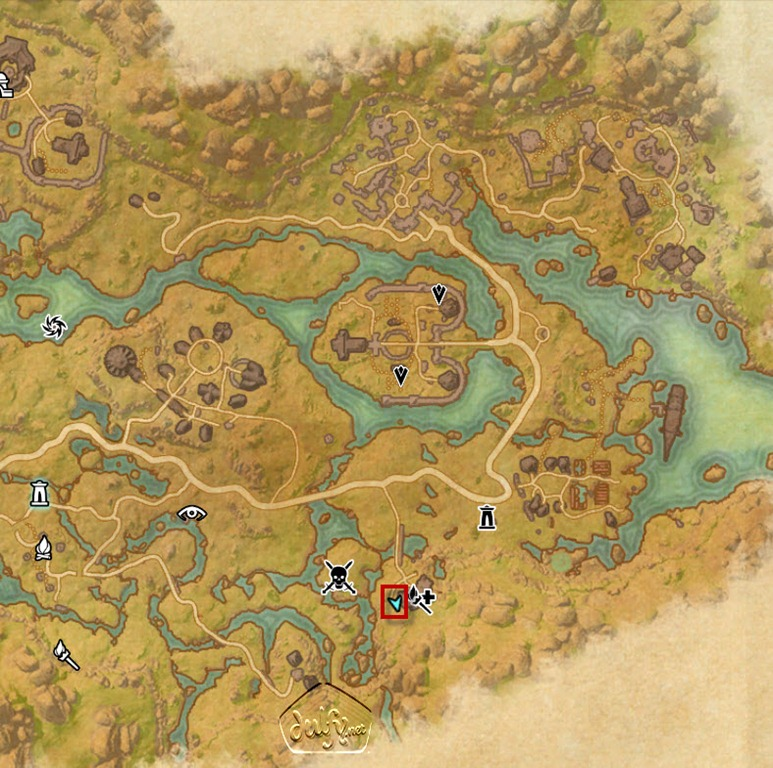 ESO Deshaan Skyshards Guide - Dulfy on the rift ce treasure map, khenarthi's roost treasure map, stormhaven ce treasure map, bleakrock treasure map, auridon treasure map,