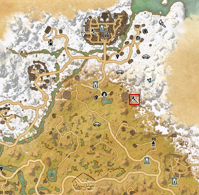 ESO Eastmarch Skyshards Guide - Dulfy