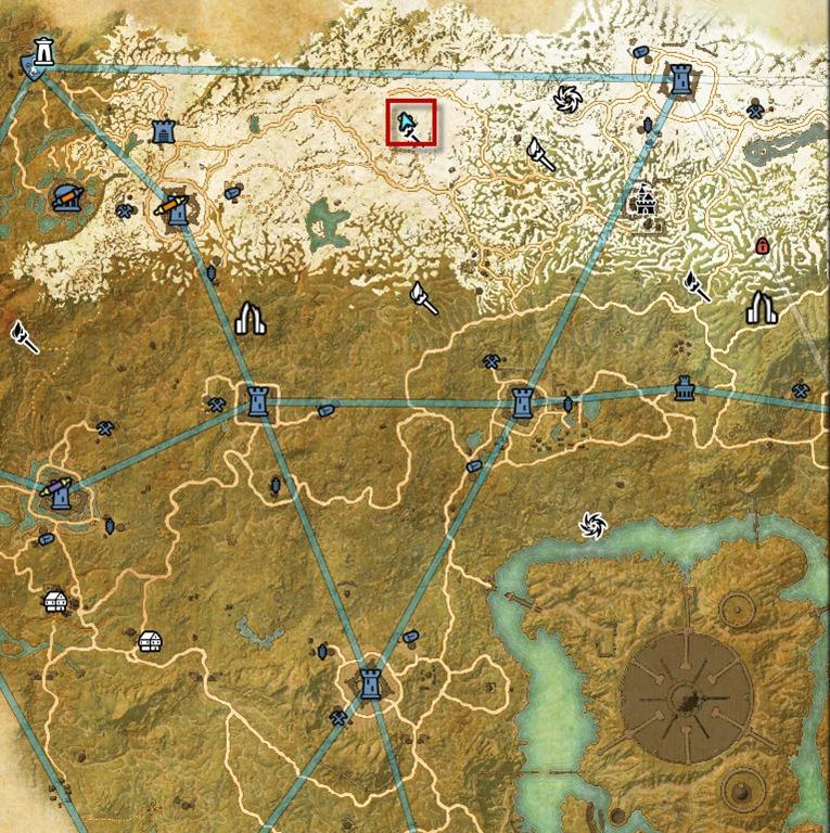 ESO Cyrodiil Daggerfall Skyshards Guide - Dulfy on