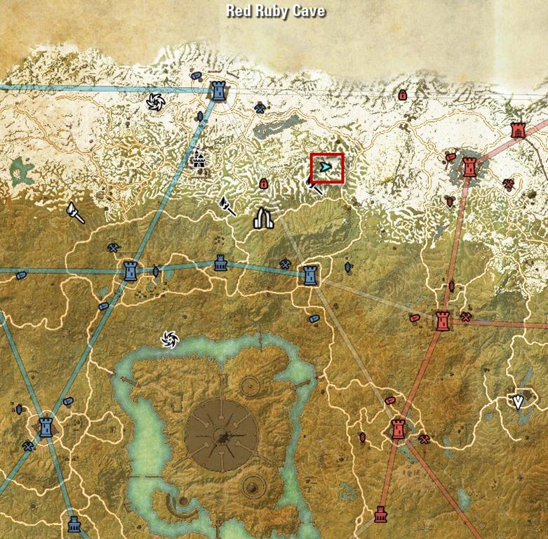 Eso Cyrodiil Map Delves | Pwner