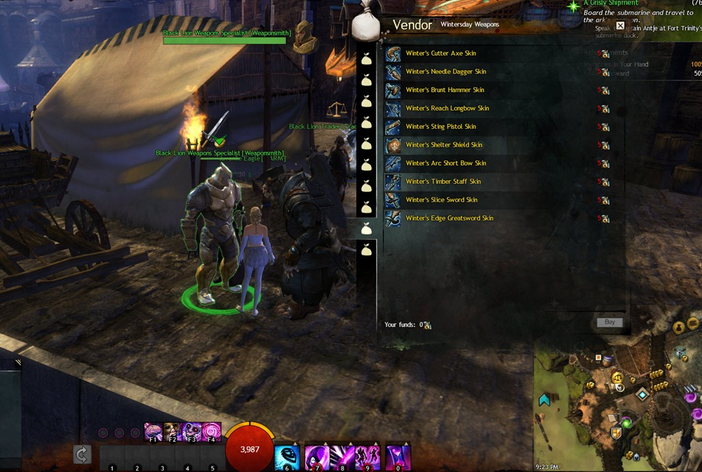 Gw2 Sclerite And Winter Weapons To Be Removed Dulfy