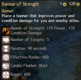 banner of strength