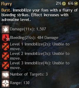 flurry in combat