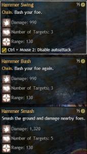 hammer autoattack