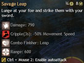 savage leap