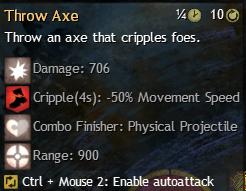 throw axe