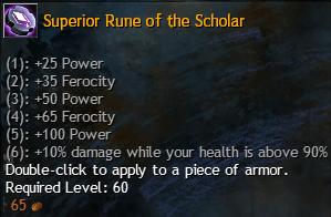 scholar rune
