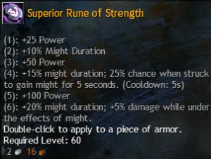 strength rune