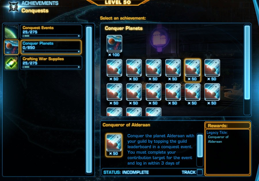 SWTOR Planetary Conquests Guide - Dulfy