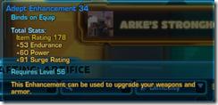 Adept Enhancement 34 Blue