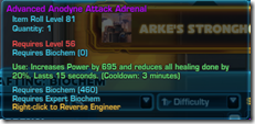 Anodyne Attach Adrenal Purple