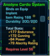 Anodyne Cardo System Green