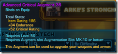 Critical Augment 36 Purple