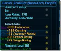 Frasium Nano-Tech Earpiece Blue