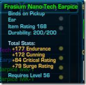 Frasium Nano-Tech Earpiece Green
