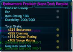 Frasium Nano-Tech Earpiece Purple