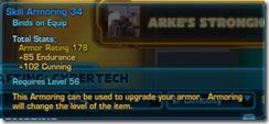 Skill Armoring 34 Blue