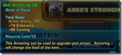 Skill Armoring 34 Green