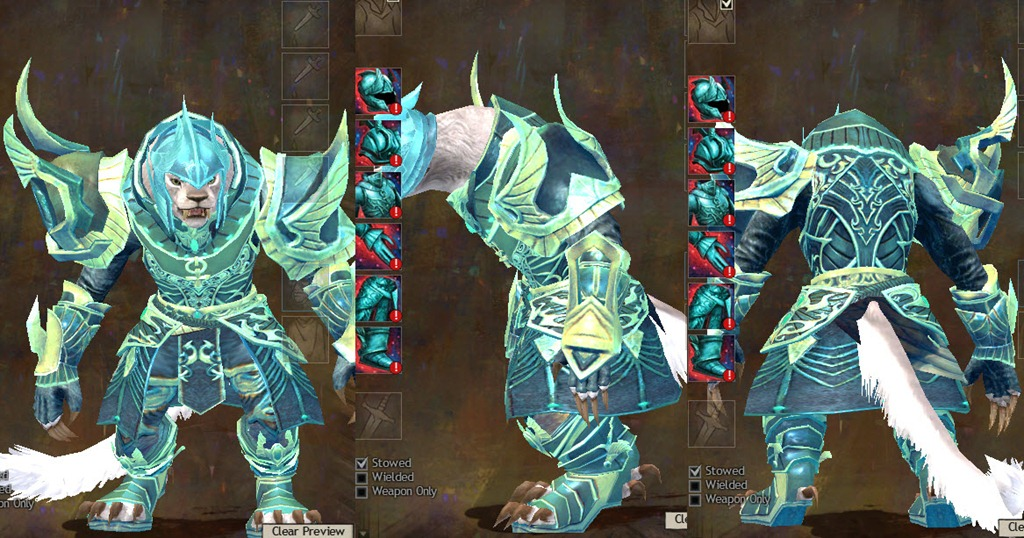 gw2 luminescent heavy armor set charr1