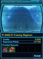 swtor-daily-training-regimen