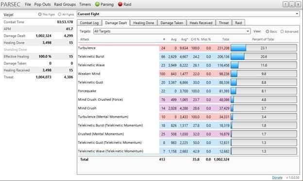 SWTOR 3 0 Telekinetics Sage DPS Guide by KTap - Dulfy