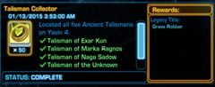 swtor-talisman-collector