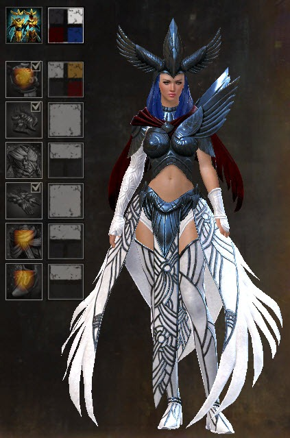 GW2 Dwayna's Regalia Outfit Gallery - Dulfy